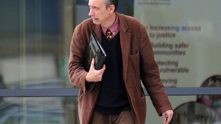 Julian Myerscough appears at Ipswich Crown Court.