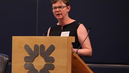 Jane Milligan, the executive lead at the East London Health and Care Partnership. Picture: Gateway H