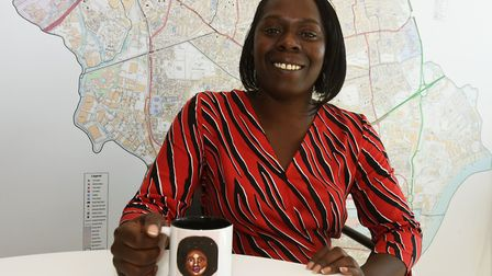 Councillor Charlene McLean, who grew up in Plaistow round the corner from the Newham African and Car