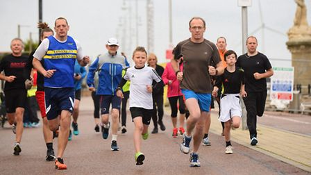 A new parkrun being launched in Lowestoft. The second trial event taking place on Lowestoft seafront