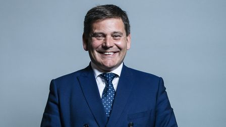 Tory MP and Brexiteer Andrew Bridgen (Photograph; House of Commons)
