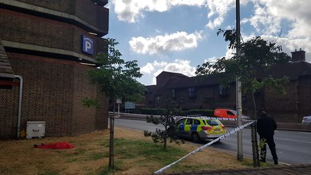 Richard Robinson, 49, was found dead in patch of grass next to Winston Way car park. Photo:Aaron Wal