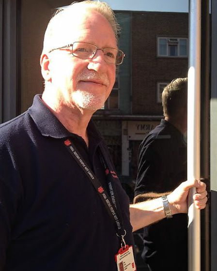 Dave Chuck, community manager for the Salvation Army church in Romford. Picture: Archant