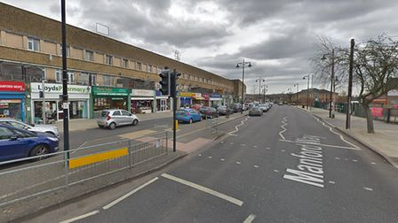 Residents claim a man was stabbed in the throat. Picture: Google Maps