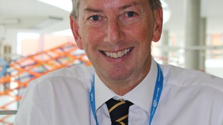 Nick Swift has been named the new chief financial officer of the BHRUT. Photo: BHRUT