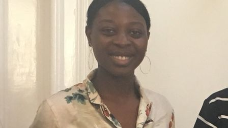 Morrilyn Baker, who was born in Sierra Leone, is part of the one per cent of care leavers who go on