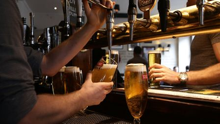 The UK's pub industry could take a hit if the chancellor raises beer duty in the Autumn Budget. Phot