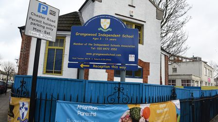 Grangewood Independent School in Forest Gate. Pic: KEN MEARS