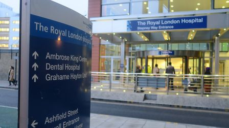 The Royal London Hospital, run by Barts Health NHS Trust. Picture: Mike Brooke