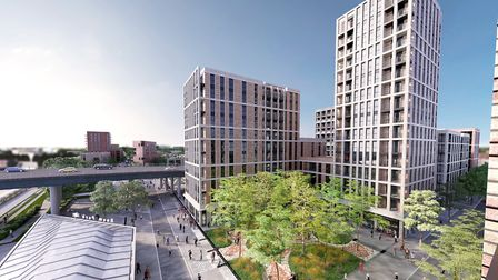 The final proposals for phase one of the Beam Park development, which were approved by London's depu