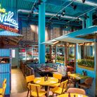 Levi Roots Caribbean Smokehouse in Westfield Stratford. Pic: Samphire Communications