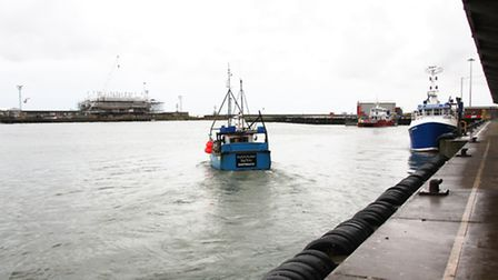 Moorings at the Port of Lowestoft. Picture: Maurice Gray