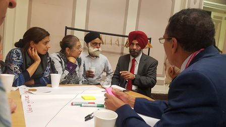 Residents speak with council leader Jas Athwal at revamped Redbridge Local Forum.