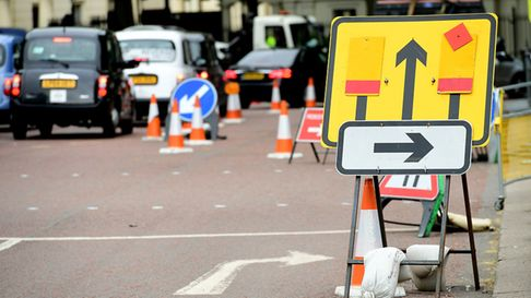 Figures show traffic jams are getting worse. Photo: PA