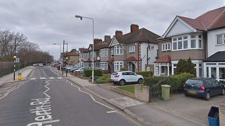 Police arrested three of the four suspects at an address in Perth Road, Ilford. Picture: Met Police