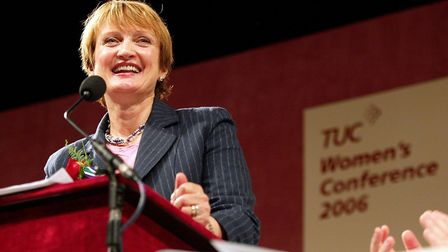 Tessa Jowell addressing the TUC women's conference on International Women's Day in 2006. Picture: PA