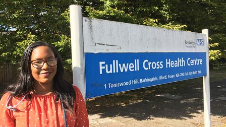 Dr Naomi Oliver trained lin the borough and is happy to stay. Picture: RedbridgeCCG