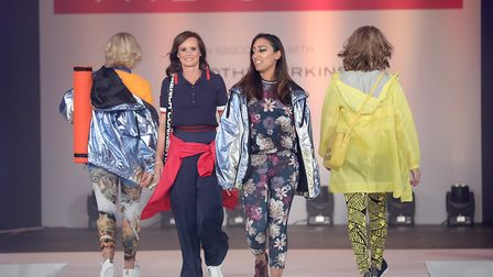 Models took to the runway at the Breast Cancer Care London Fashion Show in association with Dorothy