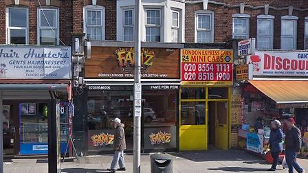 Fam'z Peri Peri Chicken, in Cranbrook, may have its license revoked next month. Photo: Google