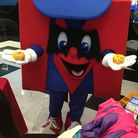 Metro Man - Metro Bank's mascot - will be at the event on Sunday, October 28. Photo: Metro Bank