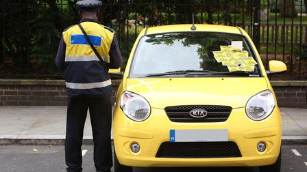 Havering Council is proposing to increase the maximum parking fine across the borough to �130. Phot