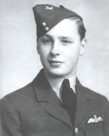 John Freeborn shortly after he joined the RAF at Hornchurch. Photo: Amy Freeborn