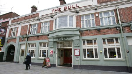 The Bull pub in the market place