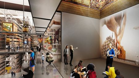 The new Here East centre seeks to reinvent the idea of a museum store. Picture: Diller Scofidio + Re