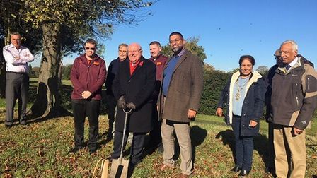 MP for Ilford South planred five trees. Picture: Offiice of Mike Gapes