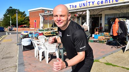 Mark Smith is running a series of races to raise money for the Unity Centre.