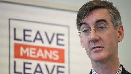 Jacob Rees-Mogg has been attacked over claims people could be inspected at the Irish border as they