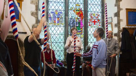 Bell ringers from St Andrews church in Hornchurch will be ringing the bells on Remembrance Sunday. S