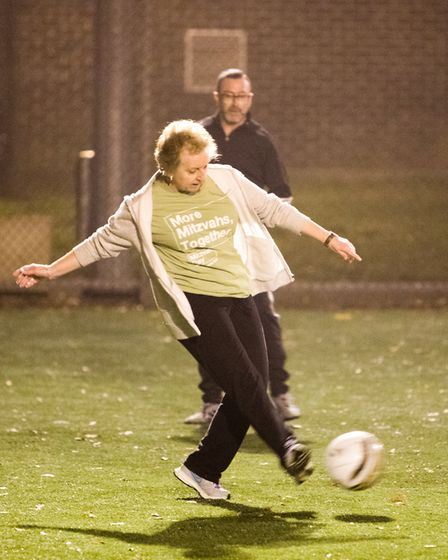 The Recorder joined a Redbridge Jewish Care Centre's walking foootball club for a match ahead of Mit