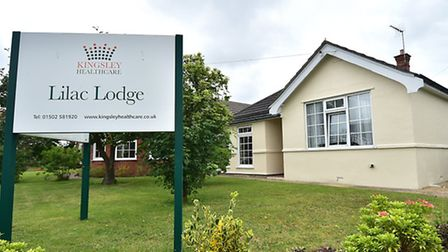 Lilac Lodge care home in Oulton Broad. Picture: ANTONY KELLY