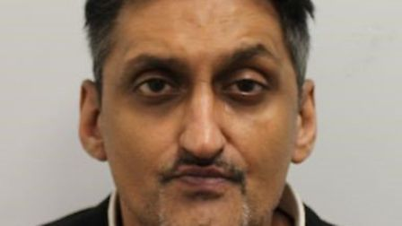 Jeetendra Parekh was stopped by the police in Ilford. Picture: Met Police
