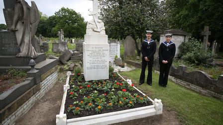 Historic England announced the listing of the grave of London boy hero Jack Cornwell, who fought in