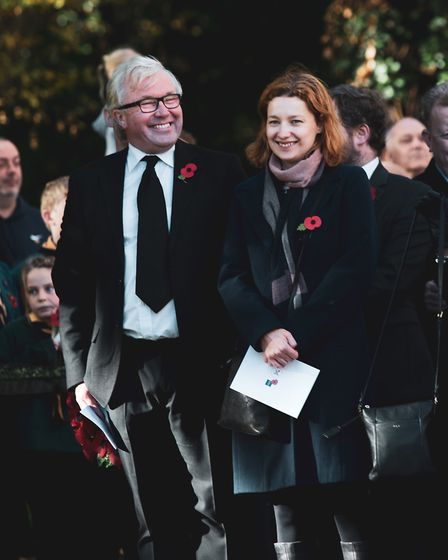 A moving memorial service was held in Wanstead to mark the centenary of the end of the First World W
