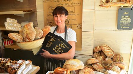 Southwold bakers Two Magpies have won best fruit bread and best ciabatta in the World Bread Awards.B