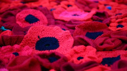 A car boot was broken into around �23 in donations stolen from a poppy appeal tin in Merton Way, Sev