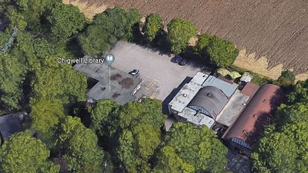 Chigwell library could stay open if volunteers agree to run it. Picture: Google Maps