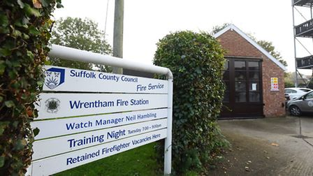 Wrentham Fire Station in North Suffolk.Picture: James Bass
