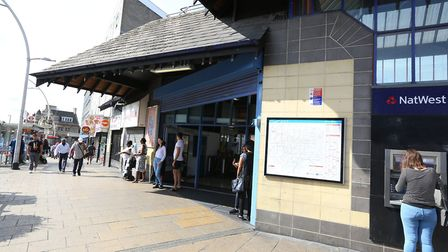 The incident happened outside Ilford station on Friday, November 23.