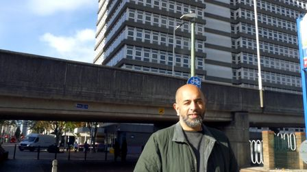 Tahir Butt, 50, is community engagement officer for charity Serving Humanity. The charity distribute