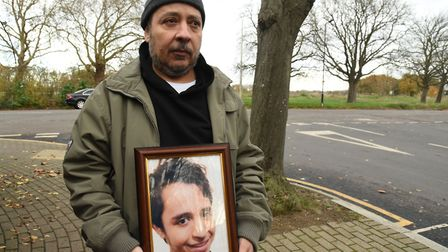 Samer Sidhom, the father of murder victim Sami Sidhom. Picture: KEN MEARS