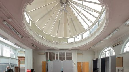 The art gallery will open in the former library in Redbridge Town Hall. Picture: Space
