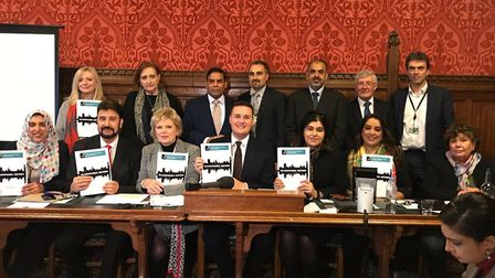 The All-Party Parliamentary Group for British Muslims presents a report urging government to adopt t