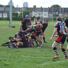 Action from East London v Campion (pic Tim Edwards)