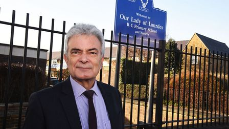 Our Lady of Lourdes Primary School Chair of Governors Greg Eglin is to step down over plans to make