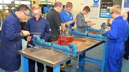 Students take part in STEM School sessions held at Lowestoft College