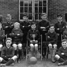 The 1948 cup-winning Hunters Hall Primary School football team. Picture: David Wade
